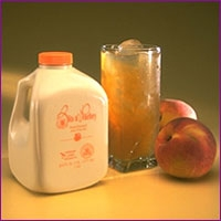 משקה אלוורה ואפרסקים