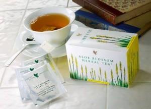 תה צמחים תערובת של עלים